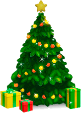 Animated Christmas Tree for Desktop - 2014